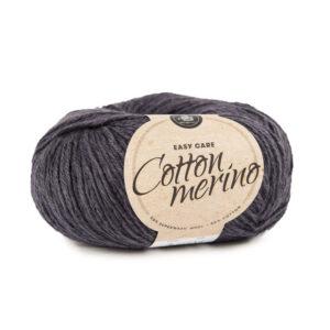 Mayflower Cotton Merino - Merinould & Bomuldsgarn - Fv 004 Koksgrå