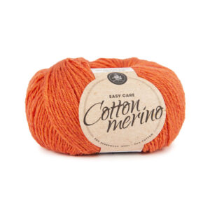 Mayflower Cotton Merino - Merinould & Bomuldsgarn - Fv 007 Orange