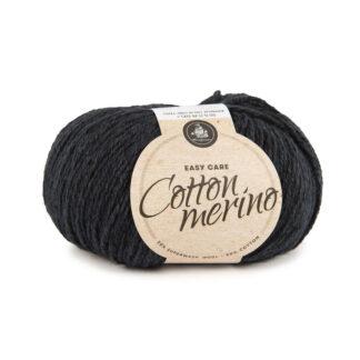 Mayflower Cotton Merino - Merinould & Bomuldsgarn - Fv 009 Mørk Marineblå