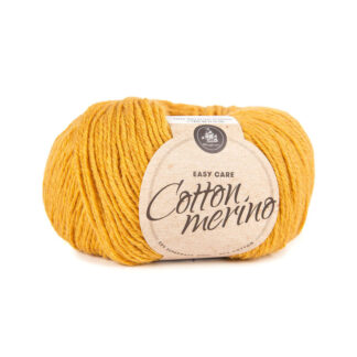 Mayflower Cotton Merino - Merinould & Bomuldsgarn - Fv 010 Solgul