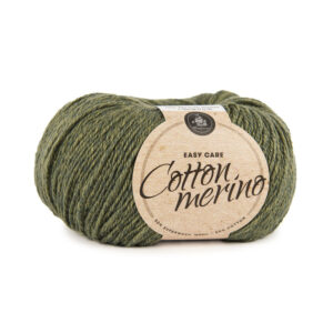 Mayflower Cotton Merino - Merinould & Bomuldsgarn - Fv 013 Mørk Oliven