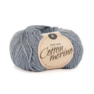 Mayflower Cotton Merino - Merinould & Bomuldsgarn - Fv 017 Jeans Blå