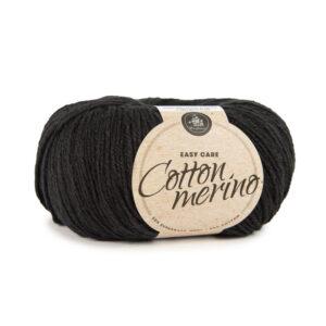 Mayflower Cotton Merino - Merinould & Bomuldsgarn - Fv 020 Sort