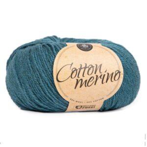 Mayflower Cotton Merino - Merinould & Bomuldsgarn - Fv 021 Blå Koral