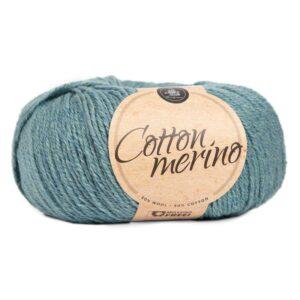 Mayflower Cotton Merino - Merinould & Bomuldsgarn - Fv 022 Blå Grøn