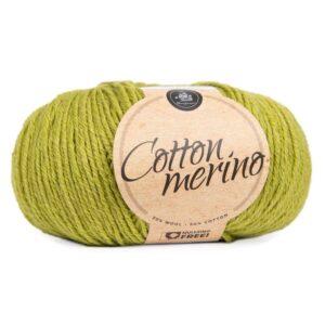 Mayflower Cotton Merino - Merinould & Bomuldsgarn - Fv 025 Mørk Citron