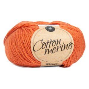 Mayflower Cotton Merino - Merinould & Bomuldsgarn - Fv 026 Støvet Orange