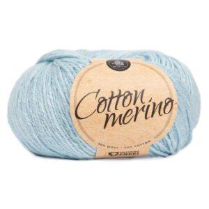 Mayflower Cotton Merino - Merinould & Bomuldsgarn - Fv 027 Kærmindeblå