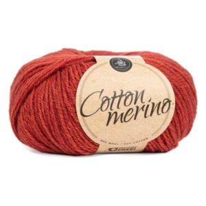 Mayflower Cotton Merino - Merinould & Bomuldsgarn - Fv 031 Rød Okkker