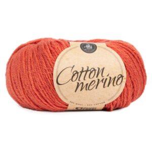Mayflower Cotton Merino - Merinould & Bomuldsgarn - Fv 032 Brændt Sienna