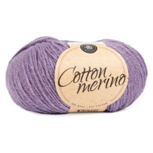 Mayflower Cotton Merino - Merinould & Bomuldsgarn - Fv 035 Lilla Dis
