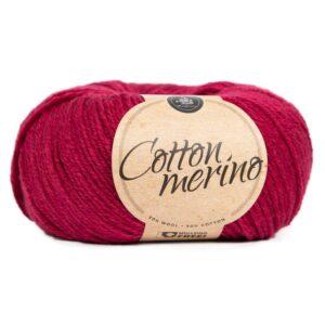 Mayflower Cotton Merino - Merinould & Bomuldsgarn - Fv 037 Kirsebær