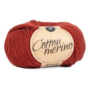 Mayflower Cotton Merino - Merinould & Bomuldsgarn - Fv 038 Rødbrun