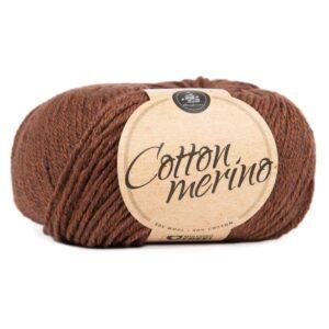 Mayflower Cotton Merino - Merinould & Bomuldsgarn - Fv 042 Brunette