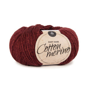 Mayflower Cotton Merino - Merinoull & Bomuldsgarn - Fv 008 Rhodondendron