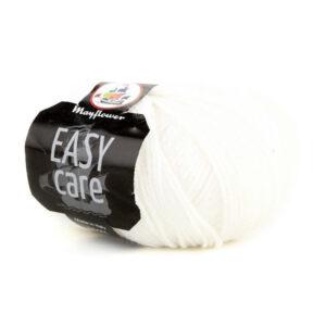 Mayflower Easy Care - Merino Uldgarn - Fv. 001 Hvid