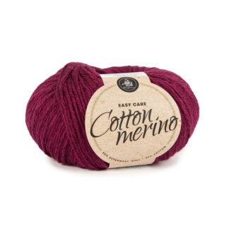 Mayflower Cotton Merino - Merinould & Bomuldsgarn - Fv 005 Kirsebærrød