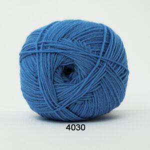 Aloa Vera strømpegarn Hjertegarn - fv 4030 Lyse Blå