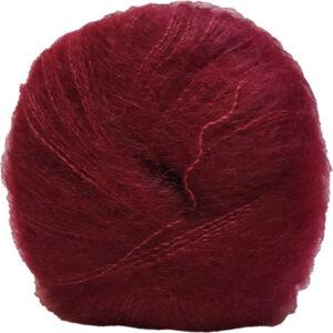 Hjertegarn Silk Kid Mohair Garn - fv 2252 Bordeaux Rød