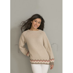 """celina"" genser - viking design 1701-12 kit - s-xxl - viking alpaca"