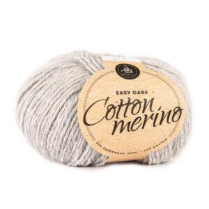 Mayflower Cotton Merino Melange garn - Fv 203 Lys Grå