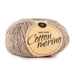 Mayflower Cotton Merino Melange garn - Fv 204 Brun